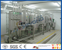 5T/H flavored pasteurized milk production plant