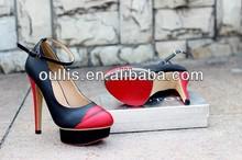 elegante vestido de zapatos de mujer zapatos de lujo 2014 oullis pj2833