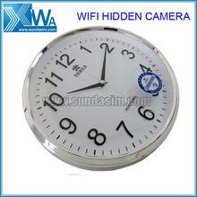 Wall Clock Wireless IP Hidden Spy Camera