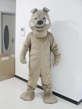 The plush Bala Dog mascot costume of adults wear costume