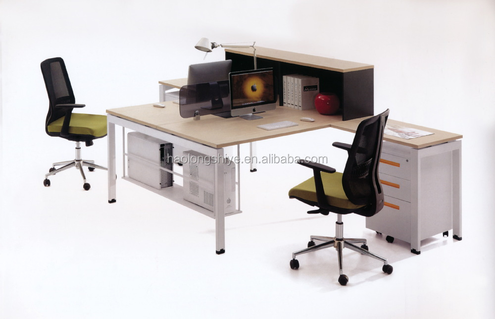 Modern Design Office Desk Two Person Computer Table - Buy Computer