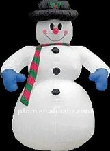 colorful inflatable led light Christmas decoration inflatable snowman
