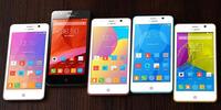 Original ultra slim android 4.5 inch zopo 4G lte smart phone