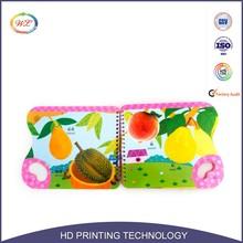 printing hardcover children photo book binding cardboard