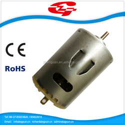 12v DC Motor for fan motor/Rechargeable standing fan ZYT545
