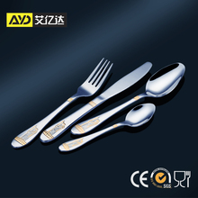 Stainless China Flatware! restaurant and hotel turkish dinnerware