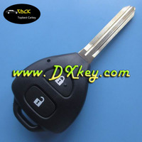 High quality 2 Buttton key smart with 433Mhz 4D67 chip car keys for toyota corolla toyota smart key