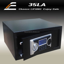 Electronic digital hotel laptop safe with LCD screen safe for hotel