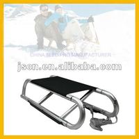 Folding aluminum sled