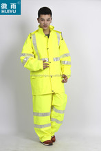 multi-function durable high visibility safety waterproof raincoat raingear rainwear for heavy rain