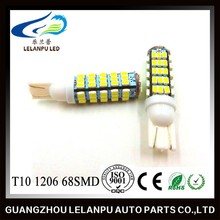 T10 194 168 W5W 68 3020 SMD LED Light White Turn Corner Lamp Bulb