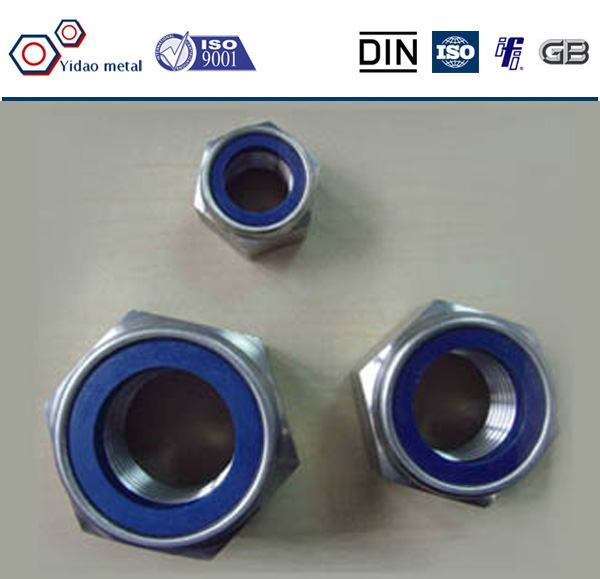 Zinc Plated Grade 8.8 Nylock Nut - Buy Zinc Pla