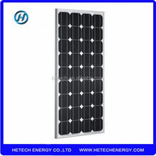 Hot selling mono paneles solares 100w from China supplier