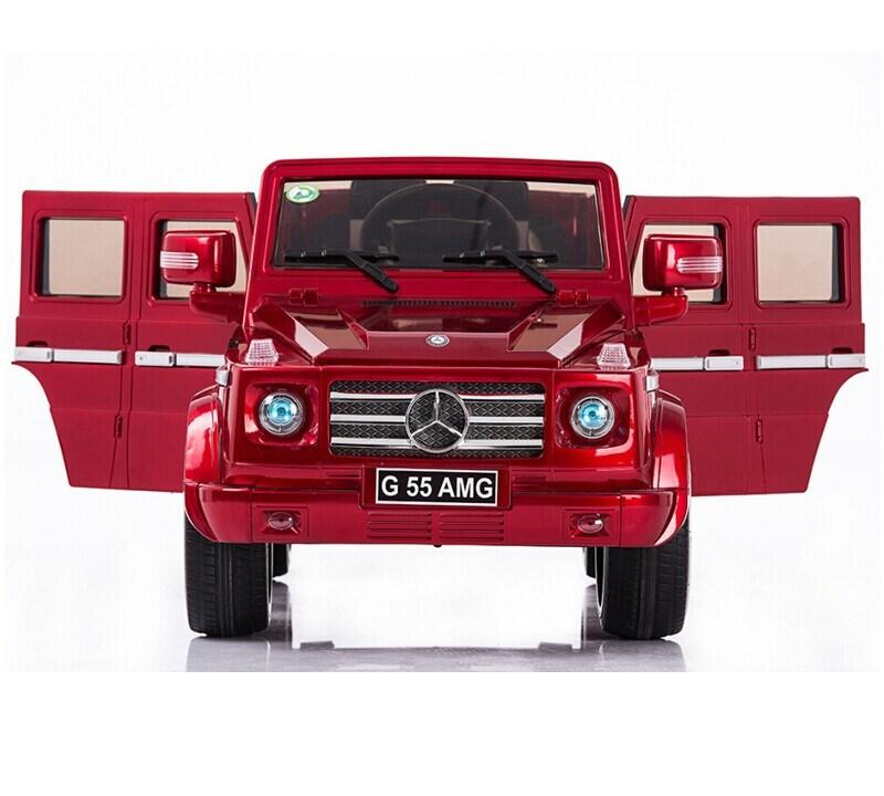Newest mercedes benz g55 amg licesned 12volt electric car for Mercedes benz kids 12 volt electric car