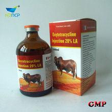 Oxytetracycline L.A Injection 5% 10% poultry medicine china medicine vial factory
