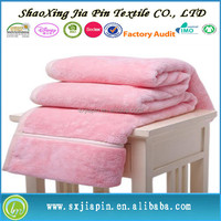 Newest new products barney coral fleece blanket