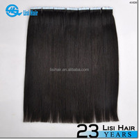 Best Quality No Shedding No Tangle No Dry Full Cuticle Super Tape double drawn remy virgin hair skin weft