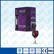 Wholesale Aluminized Wine Packaging Bag in Box with Spout