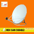 Banda C alumínio malha prato antena 75 cm / satélite malha de alumínio prato 6 pés