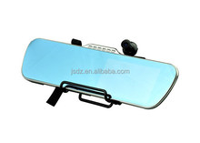 "5"" Inch HD touch screen GPS Car DVR Android 4.0 GPS WiFi Bluetooth Rearview Mirror car DVR"