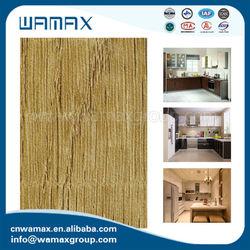 Low Formaldehyde Emission HPL furniture material W0012 woodgrain hpl natural