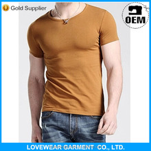 Professional factory cheap price high quality customized OEM service export high quality plain t-shirt for less than $1