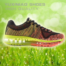 fashion stylish adults fly fabric running shoe sport men, eu size tennis shoe men sport, overstock trainning shoe made in china