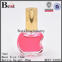 apple shape mini perfume glass spray bottle china supplier
