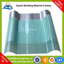 2.5mm thickness discount large corrugated plastic roofing sheets for roof