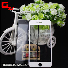 Tempered glass factory! Anti fingerprint no bubble ultra thin 0.2mm 0.3mm 9h carbon fiber glass for iphone 6 screen protector