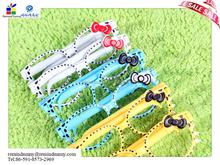 2015 promotional hot selling customized lovely glass shape ballpoint pen
