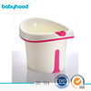 BABYHOOD deep baby plastic bathtub large plastic baby bathtub