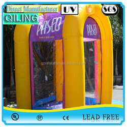 2016 Small outdoor cash booth tent advertising money macbothhine inflatable money for activity