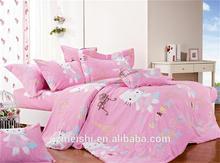Children Use Lovely Cartoon Cat bedding set kids bedclothes Bedspread/Duvet Cover Set