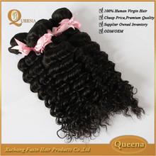 Good Feedbacks Wholesale Cheap Peruvian Hair Human Weaving 100% Peruvian Virgin Curly Hair