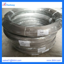 baoji iso5832-3 gr5 eli medical titanium alloy wire diameter1.5mm pickling surface