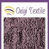 embossed velvet upholstery fabric 95% polyester 5% spandex knitted fabric