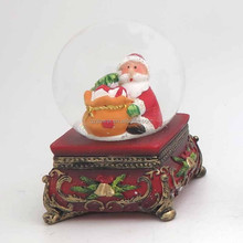 Decoration Beautiful Snow Chrismas Water Halloween Snow Globe