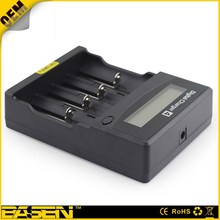 Multi function LED display Battery Charger for 4 aa/aaa Li-ion / NiMH/NiCd rechargeable battery