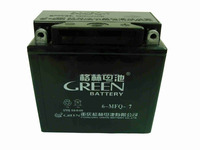 Green brand conventional lead acid motorcycle battery