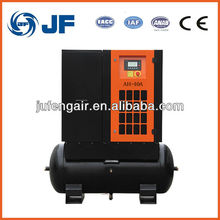 15kw rotary screw air compressor for sale mute and refrigeration