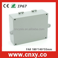 high quality & beautiful IP66 die casting aluminum junction box for electrical industry /TIBOX FA8 (180*140*55mm)
