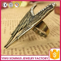 hot sale men personality zinc alloy ring