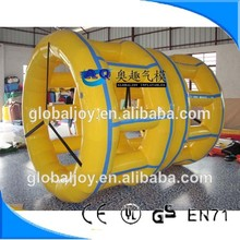 Top quality inflatable cylinder roller, factory sale inflatable cylinder roller ,inflatable water roller