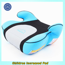Car Interior Increased Child Safety Seat Cushion To Ensure The Safety Of Children Color Red Pink Blue Green Suede Material