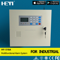industrial alarm system dialer , PSTN GSM Alarm console