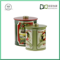 Supply Metal Tea Box Food grade tin container