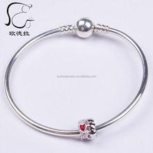 acrylic bracelet princess pink glass beads for plants