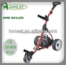 Motorized Powerful Electric Electric Golf Buggy Golf Cart Golf TrolleyHME-601LED