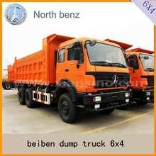 Tipper car beiben NG80 cab caminhão 6 x 4 dumper truck venda dubai